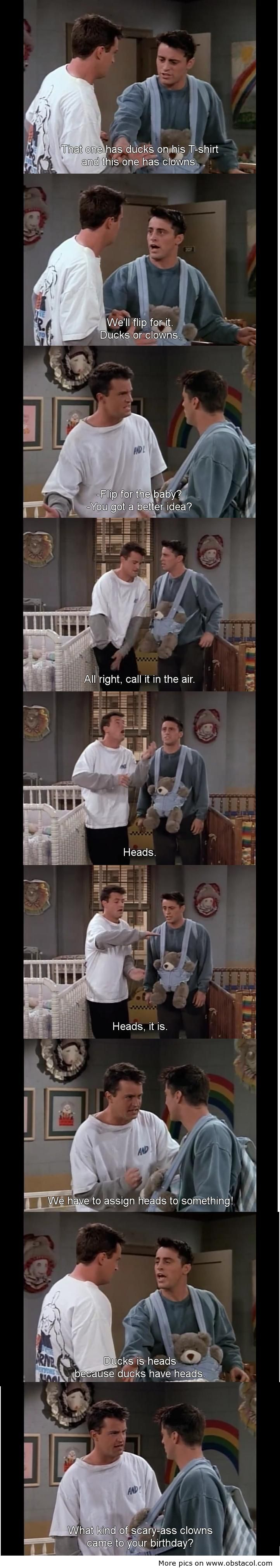 I. Love. Chandler. Bing.