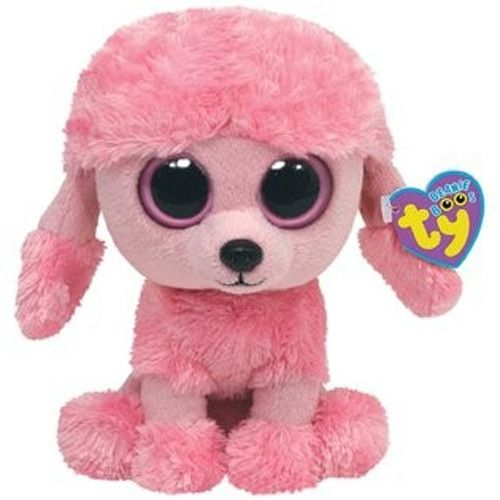 10 Ty Beanie Boo S Baby Pink Poodle Puppy Dog Princess Stuffed