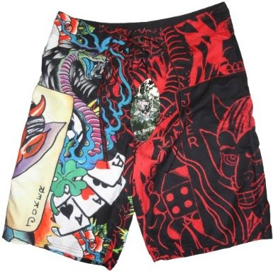 Men's Ed Hardy Swim Trunks Board Shorts Joker Red on http://etrendzshop.com:  Bath Trunks, Ed Hardy, Swim Trunks, Hardy Swim, Jeans Pants Shorts, Jokers Red, Shorts Jokers, Boards Shorts, Trunks Boards