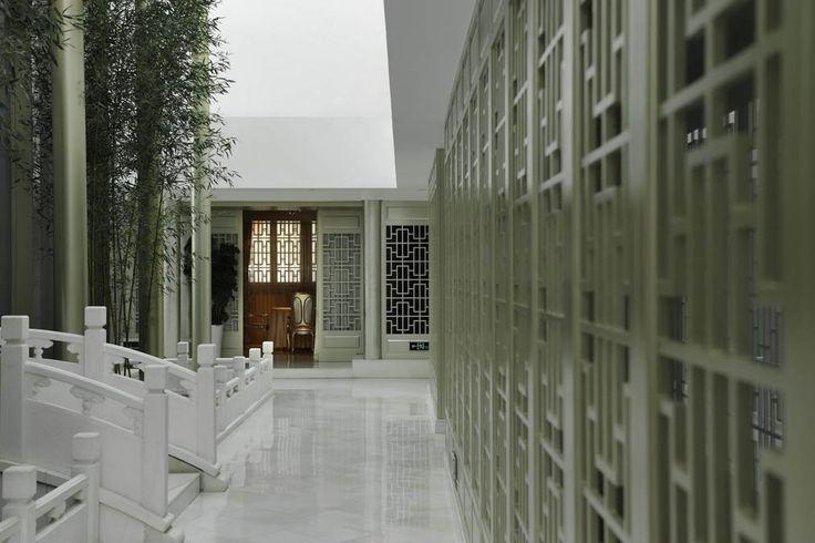 Beijing Shanhailou (Tuanjiehu) Clubhouse_北京集美組   家. 室內. 祠