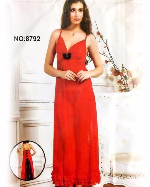 Summer Sexy Net Nighty 8792 - Long Net Nighty Dress - Nighty - diKHAWA Online  Shopping 101f83132