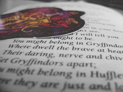 Gryffindor House. Symbol: LionColours Scarlet and GoldElement: FireRelic: Gryffindor's SwordCommon Room: Behind the Fat Lady's Portrait, seventh floorPositive Defining Traits: Bravery, chivalry.Negative Defining Traits: Recklessness, arroganceFounder: Godric GryffindorHead: Minerva McGonagall [1956 - 1998]Ghost: Sir Nicholas de Mimsy-PorpingtonNotable Members: Albus Dumbledore, Harry Potter, Neville Longbottom.