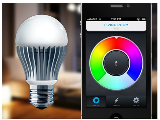 LIFX light bulb controlled with your iPhone!
