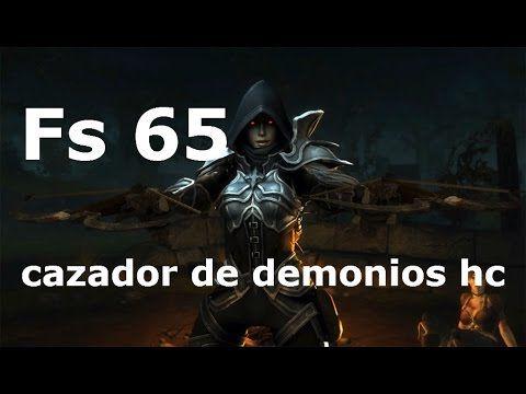 (Diablo 3) Fs 65 cazador de demonios hc