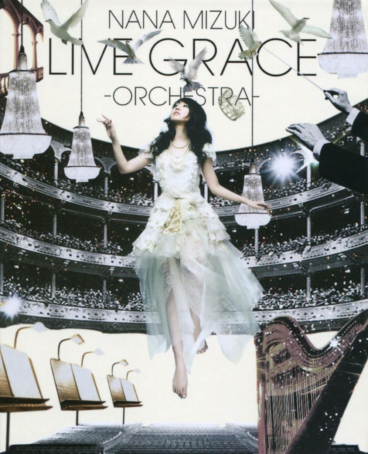 Nana Mizuki - Live Grace -Orchestra- DVD Cover
