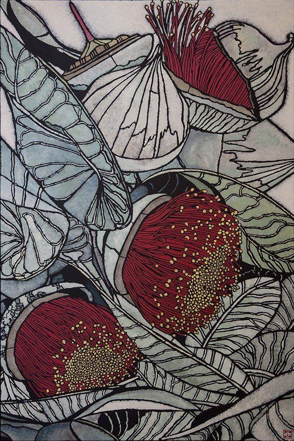 Julie Hickson Australian Stencil Artist Botanical Art