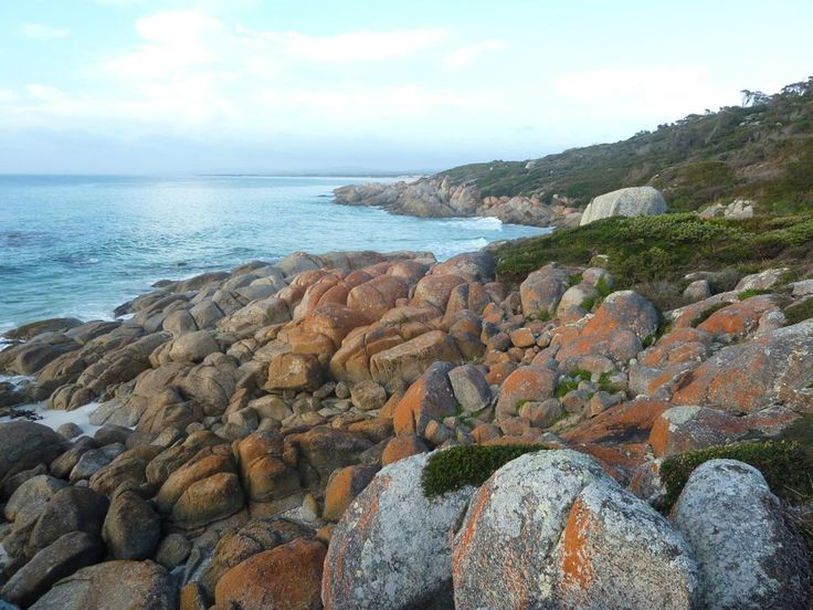 The beautiful Bay of Fires Tasmania