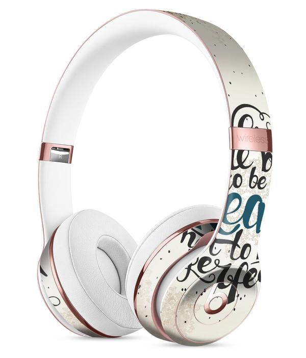 We Were Born to be Real V2 Full-Body Skin Kit for the Beats by Dre Solo 3 Wireless Headphones