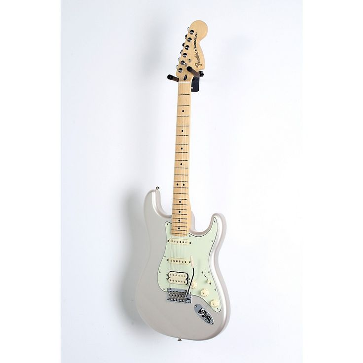 Fender Deluxe HSS Stratocaster with Maple Fingerboard Blizzard Pearl 190839012906