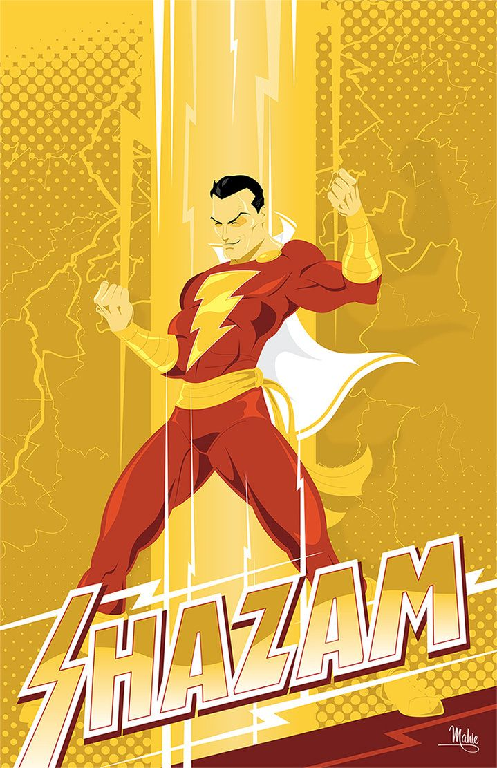 I LOVE THIS PERSON'S VERSION OF CAPTAIN MARVEL!  Shazam by MikeMahle on deviantART