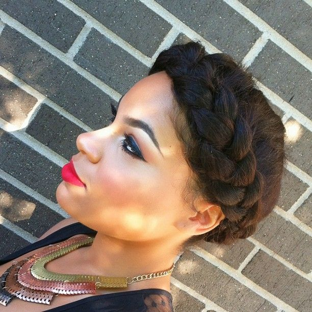 Marvelous 1000 Images About Goddess Halo Braid On Pinterest Protective Short Hairstyles For Black Women Fulllsitofus