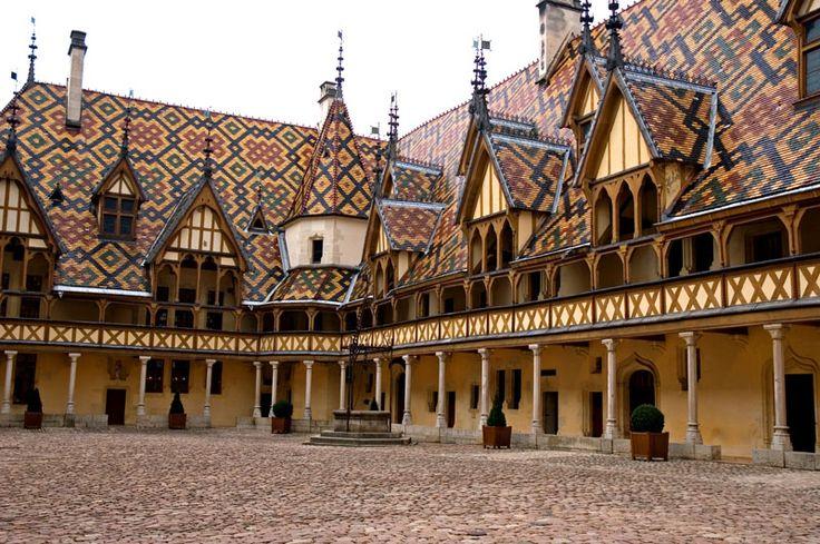 Hotel Dieu, Beaune, Burgundy