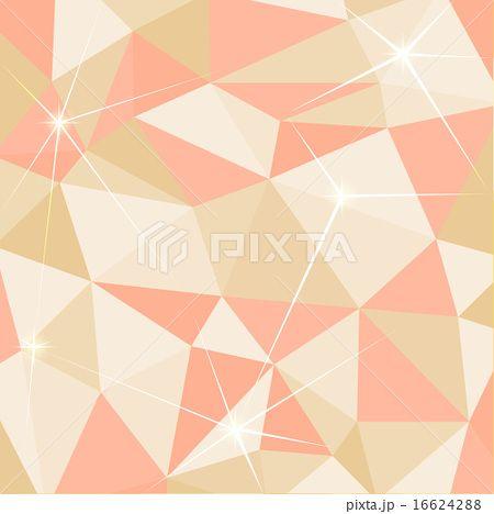かわいい幾何学模様の背景のイラスト素材 16624288 幾何学 模様 模様 イラスト