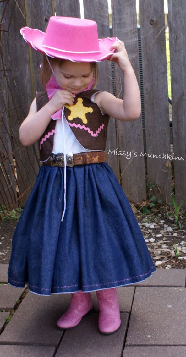 Sheriff Callie inspired outfit dress bolero by MissysMunchkins, $60.00