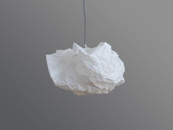 Paper Desc Diy Super Einfache Lampe Aus Seidenpapier Seidenpapier Lampe Papier