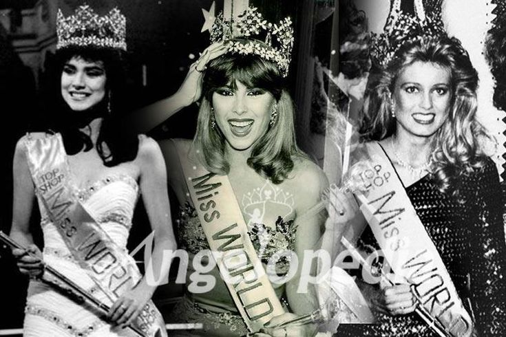 Miss World Titleholders from 1981 to 1990