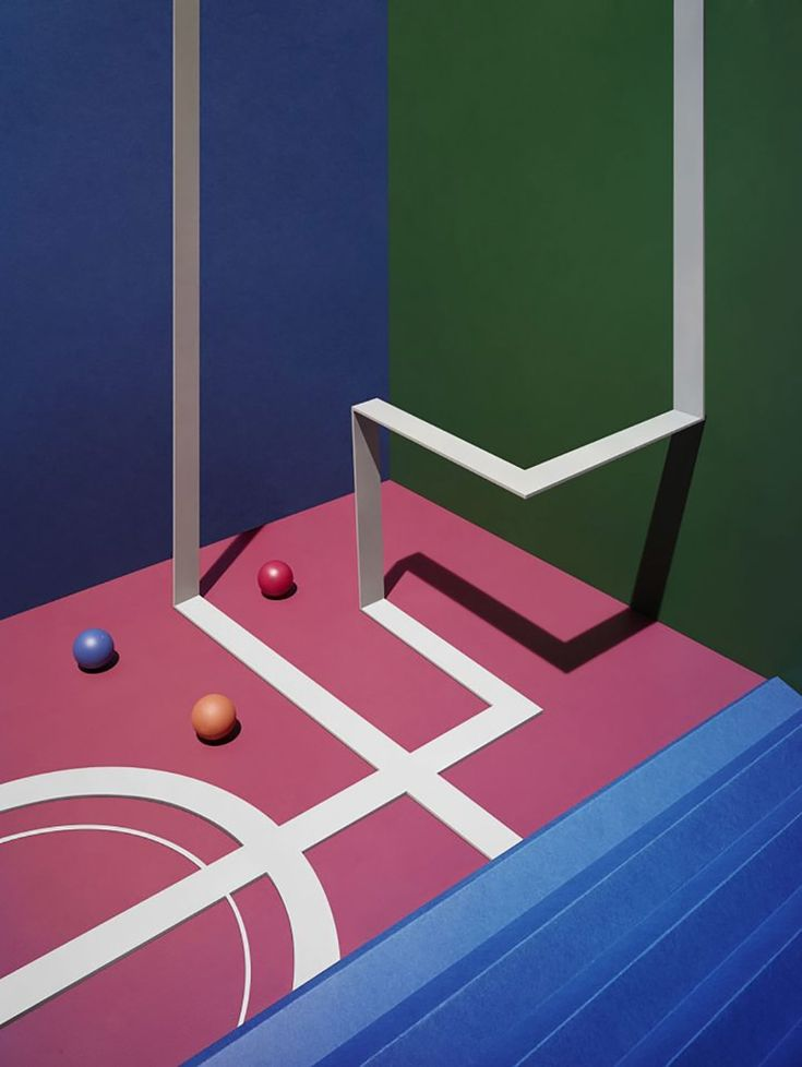 Ping Pong Art by James Day