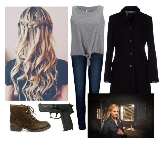 Good  Chloe Tousignant Zoo CBS by fallenguardianarchangelavenger on Polyvore featuring Anine Bing