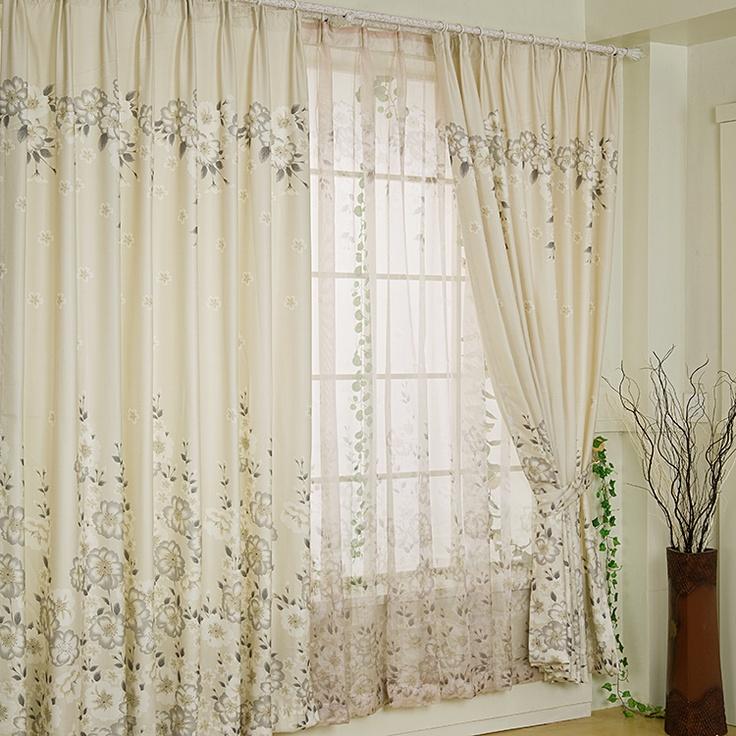125 mejores im genes sobre cortinas en pinterest for Cortinas blancas baratas