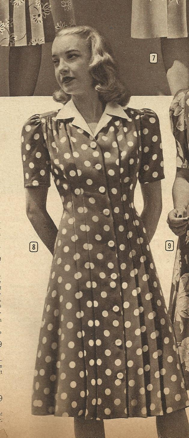 Montgomery Ward, Winter 1944 catalog. I love her hair and ...
