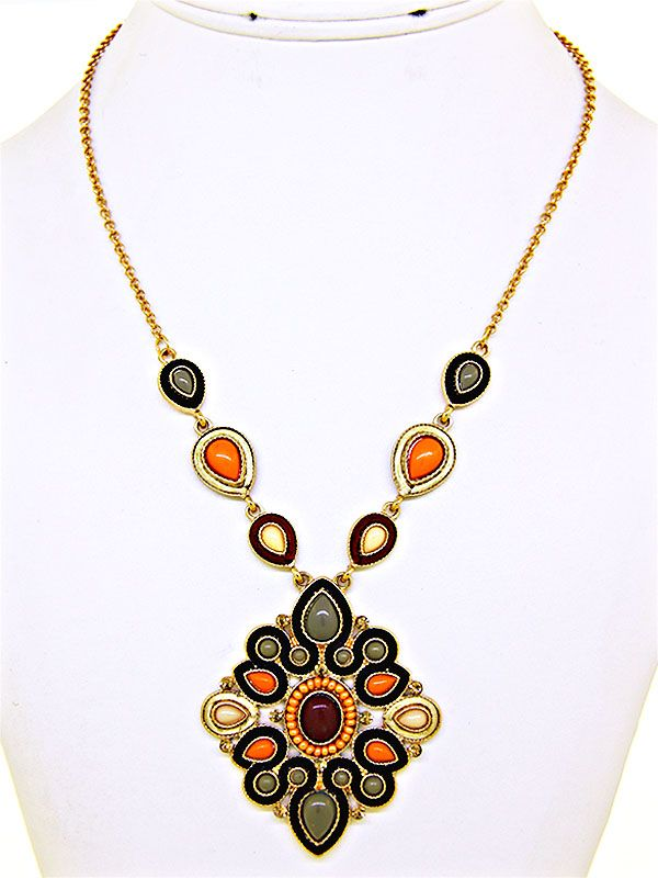 Upscale Pendant Necklace