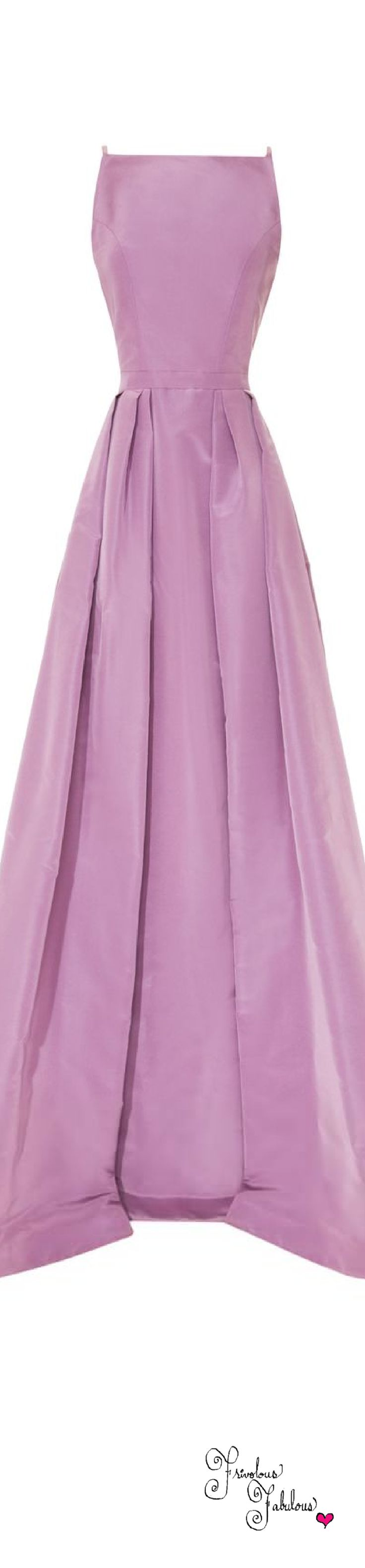 Frivolous Fabulous - Katie Ermilio Laced Tailor Bow Gown Spring Summer 2014