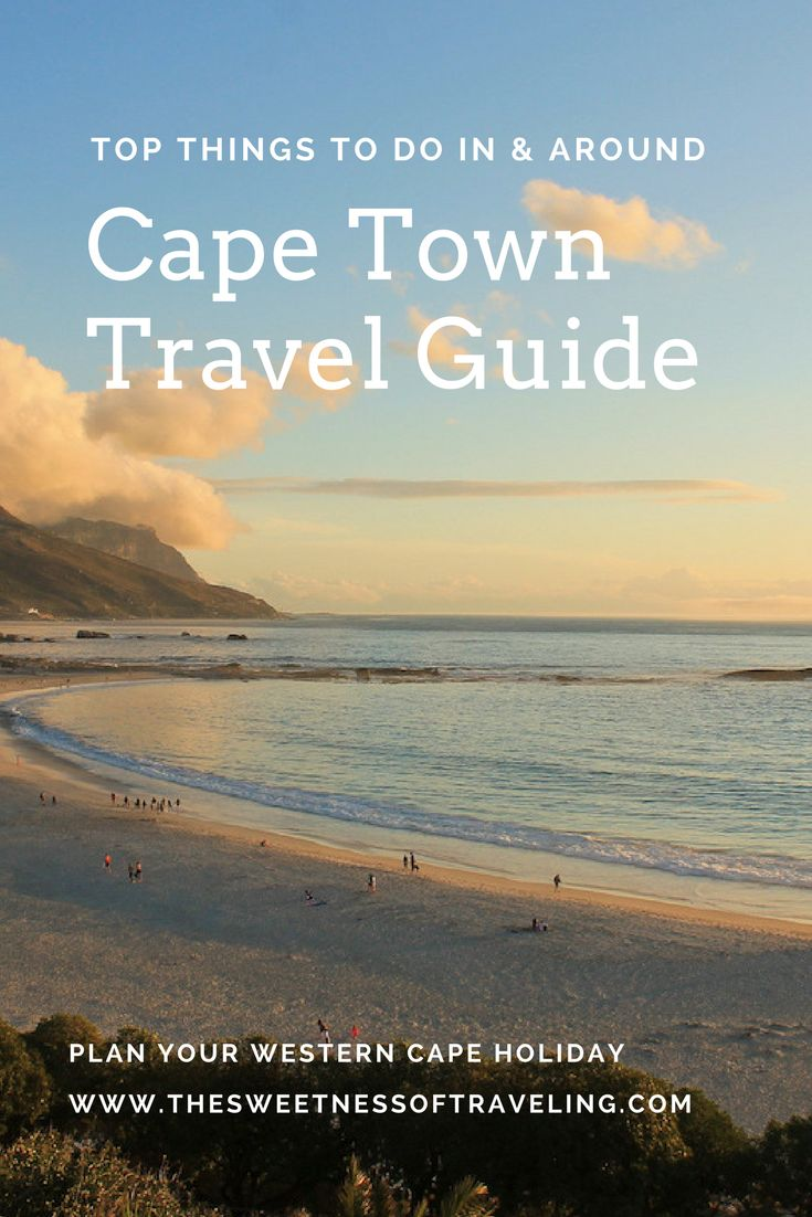 Top things to do in Cape Town, South Africa. Western Cape holiday. Cape Town travel guide for 1 or 2 weeks trip.