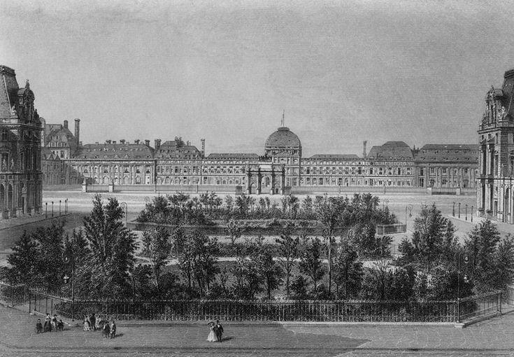 Le Palais des Tuileries vers 1868