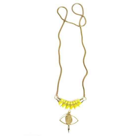 Third Eye Neon Necklace