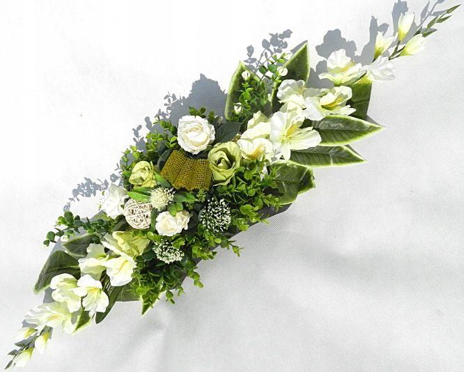 Ikebana Kompozycja Kwiatowa Grob Elegancka 78 7495066701 Oficjalne Archiwum Allegro Black Flowers Flowers