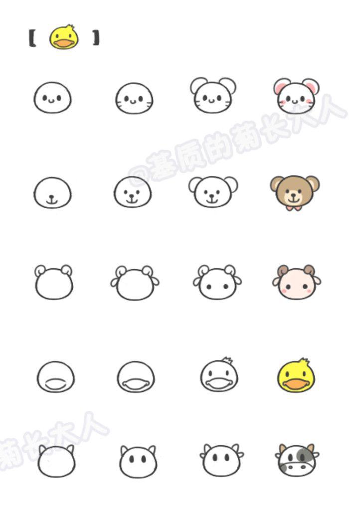 如何让画动物5,来自@基质的菊长大人