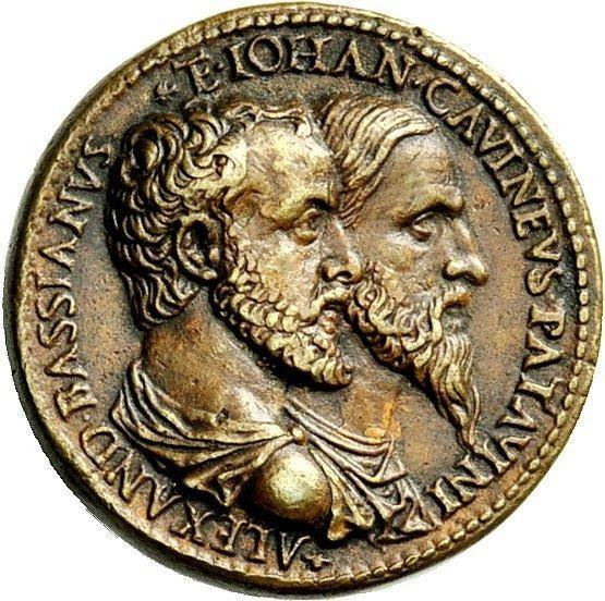 Bassano, Alessandro Magi da (1509-c. 1595) and Giovanni da Cavino (1500-1570), medal by Cavino
