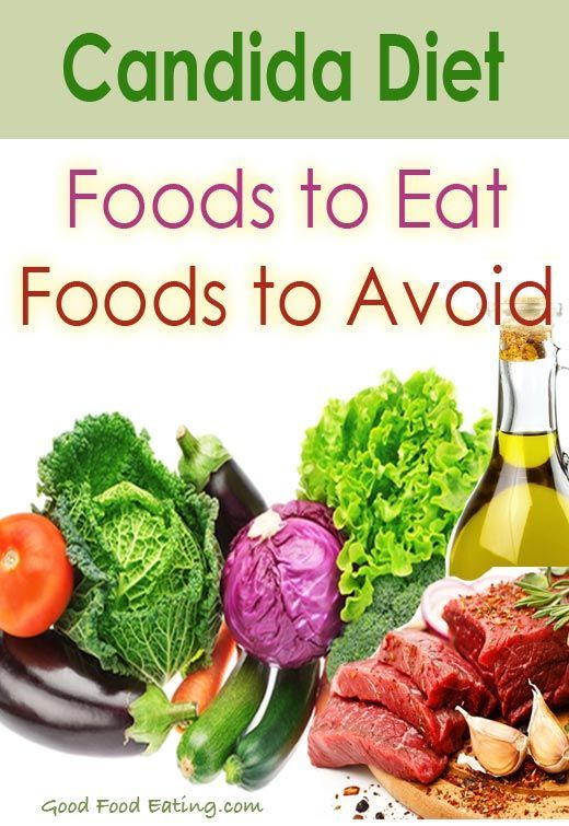 A list of foods to eat and foods to avoid on the candida diet. Though it is a restrictive diet, there are still plenty of delicious foods to choose from.