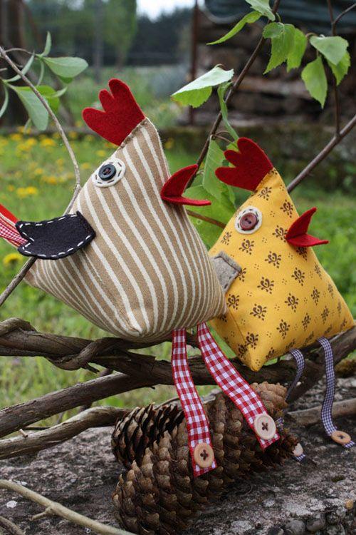 Des p'tites poules coquettes - Nath - Bout de Ficelle