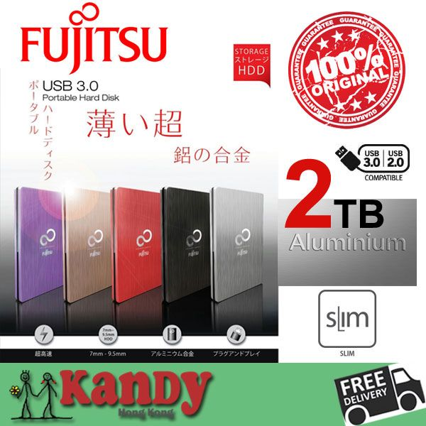 Fujitsu Aluminum USB 3.0 external hard drive hdd 2tb disco duro externo 2to hd disque dur externe harde schijf harici portable #Affiliate