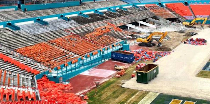 Miami Dolphins Tweets More Pictures of Sun Life Stadium Renovation