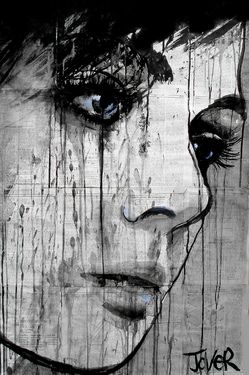 "Saatchi Online Artist Loui Jover; Drawing, ""do you know?"" #art"