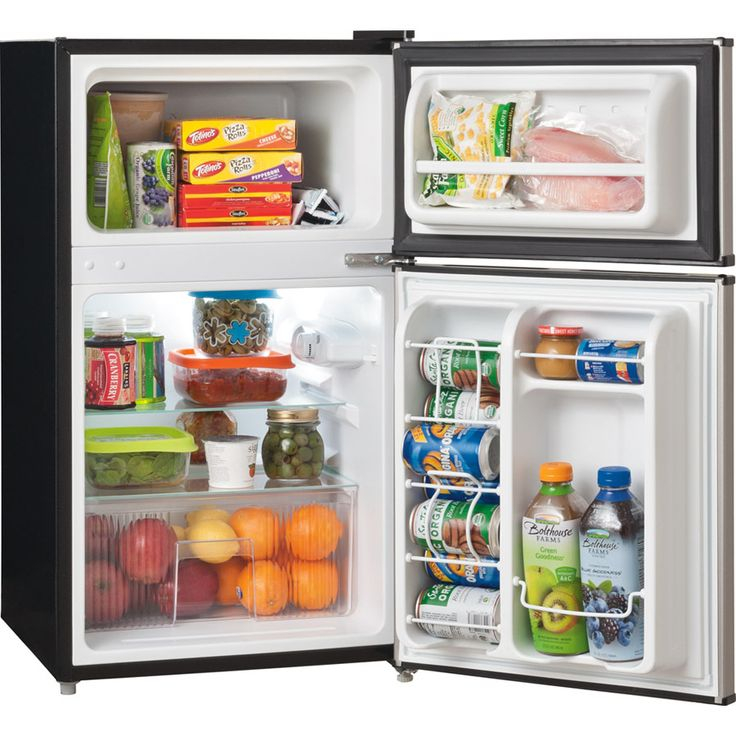 shop frigidaire 31cu ft compact with freezer compartment silver mist energy
