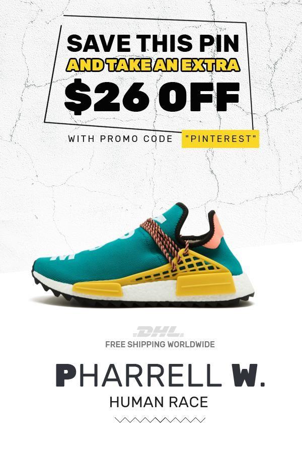 03b7129a1cac7 Order original Human Race Adidas HU Trail Sun Glow  sneakers  fashion   shoes
