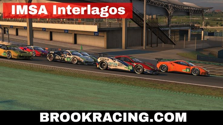 iRacing IMSA Interlagos Ferrari 488 GTE Season 3 2017