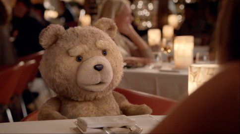 Ted Gets Dirty With Axe Hair Products in Seth MacFarlane Ads (NSFW)