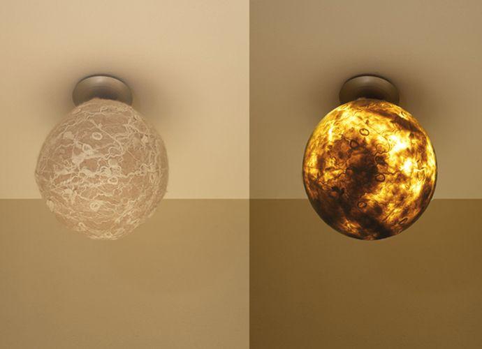 Design Judith Byberg #lightdesign #lamp #felt #nunofelt