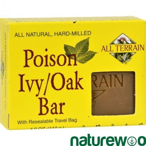 All Terrain - 762112 - Poison Ivy Oak Bar Soap - 4 oz