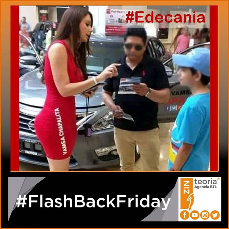 #FBF #FlashbackFriday  Activación para Nissan 🚗  #Edecania #BTL  #AgenciaDePromociones   #Marketing #Advertising