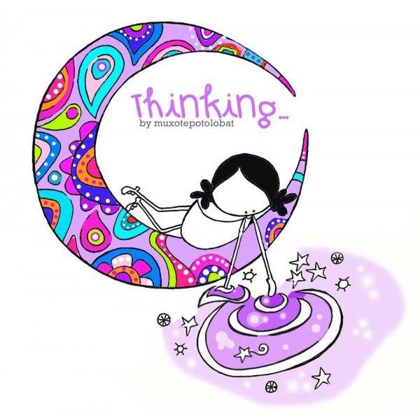 "Lámina ""Thinking"""