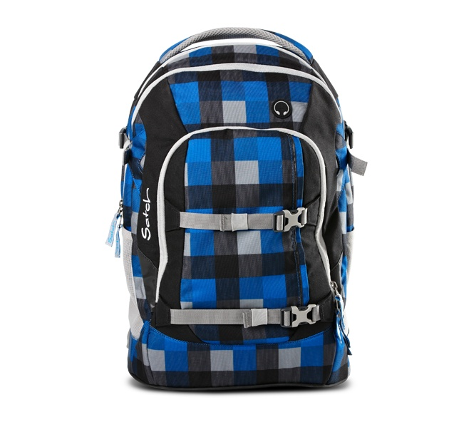 The school backpack feels like feathers on the back of school kids' shoulders: the ergonomic design allows the weight to be distributed to the more stable waist area from the shoulders through optimal load distribution, a principle used by professional hikers for years.