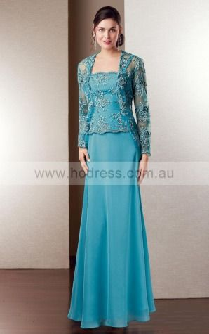 None Floor-length Natural Sheath Chiffon Formal Dresses aiga307023--Hodress