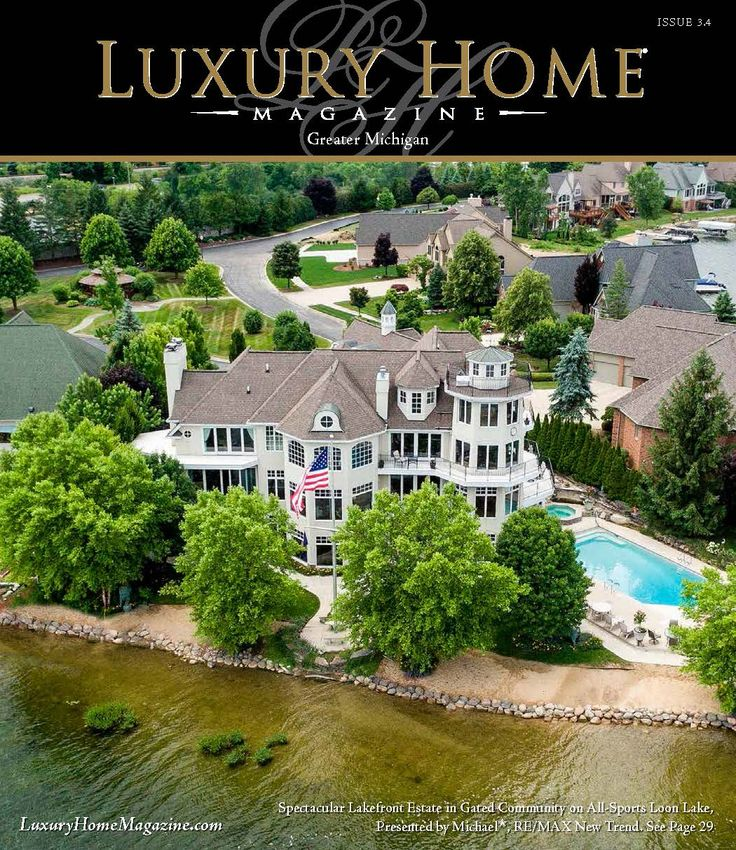 Luxury Home Magazine Michigan Issue 3.4 has been released! Cover Photography by: Andrew Schwartz, Stylish Detroit Photography