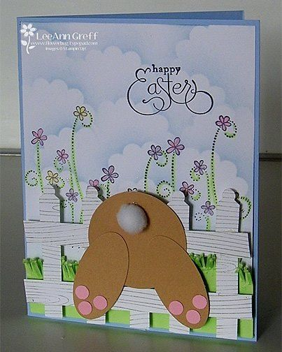 Easter, diecut, layers