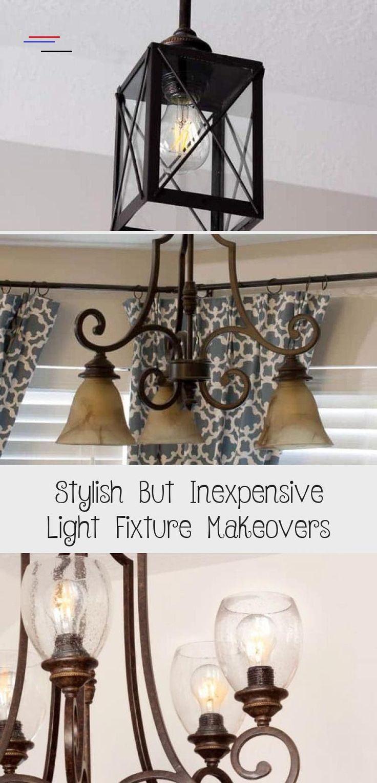 Mind Blown Lantern Pendant Light Diy Light Fixture Updates These Easy Light Fixture Makeovers Fea In 2020 Diy Light Fixtures Chandelier Makeover Simple Lighting